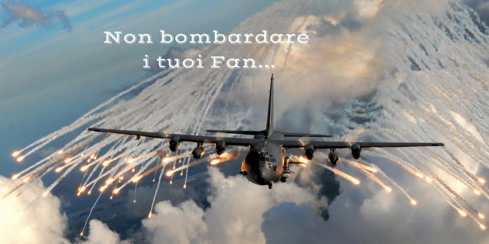Bombardare-fan-frequenza-post-facebook