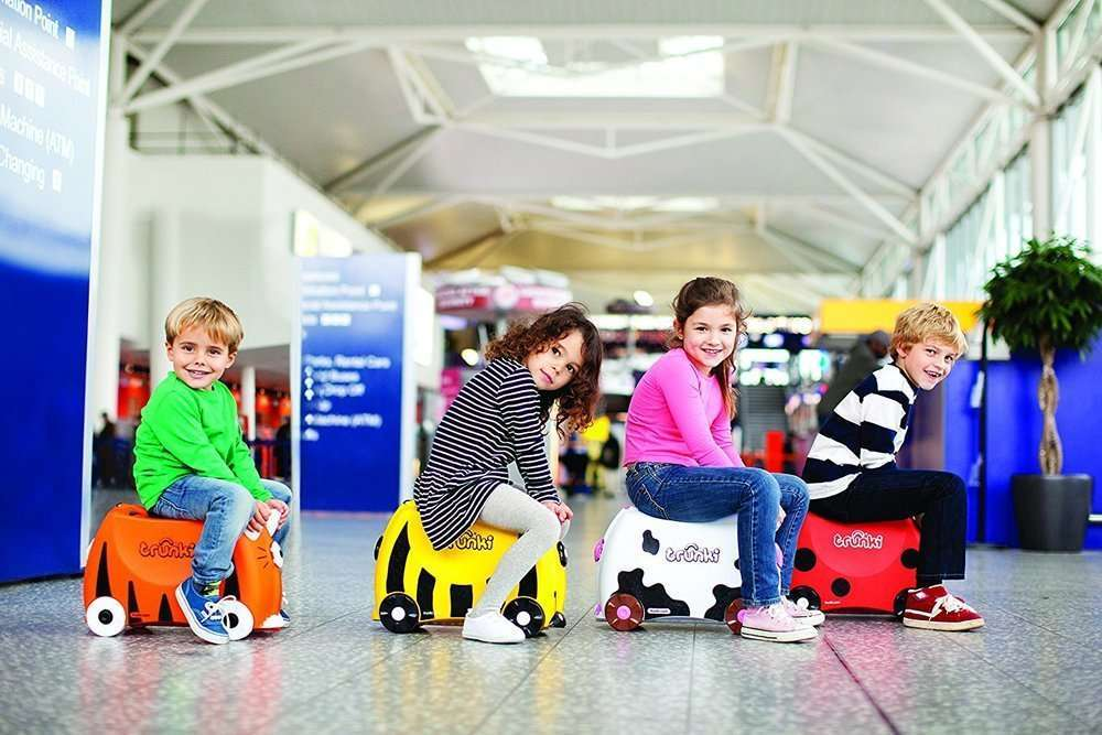 Valigia cavalcabile bambini 45€