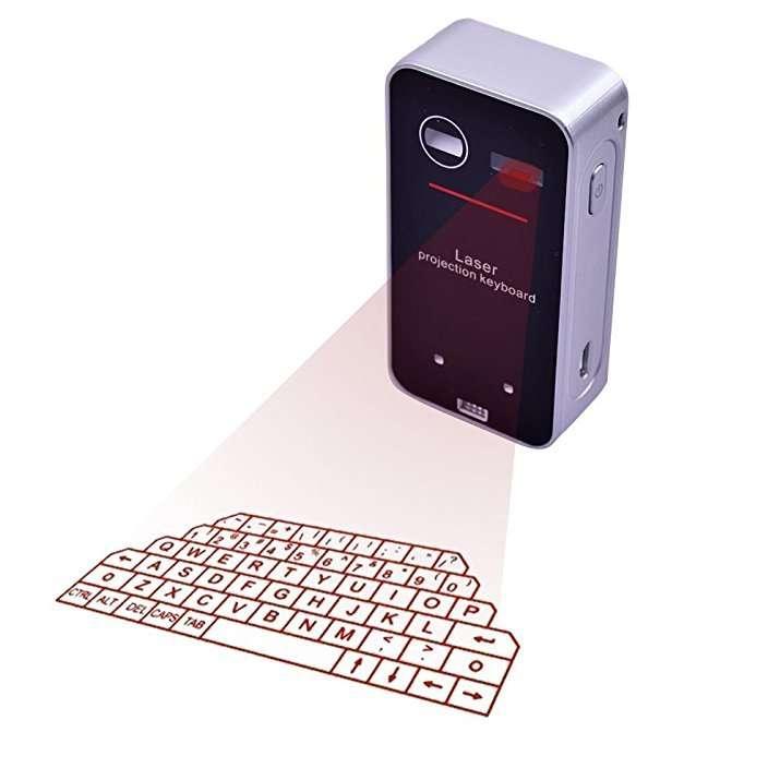 Tastiera proiettabile bluetooth vera e funzionante! A circa 40€