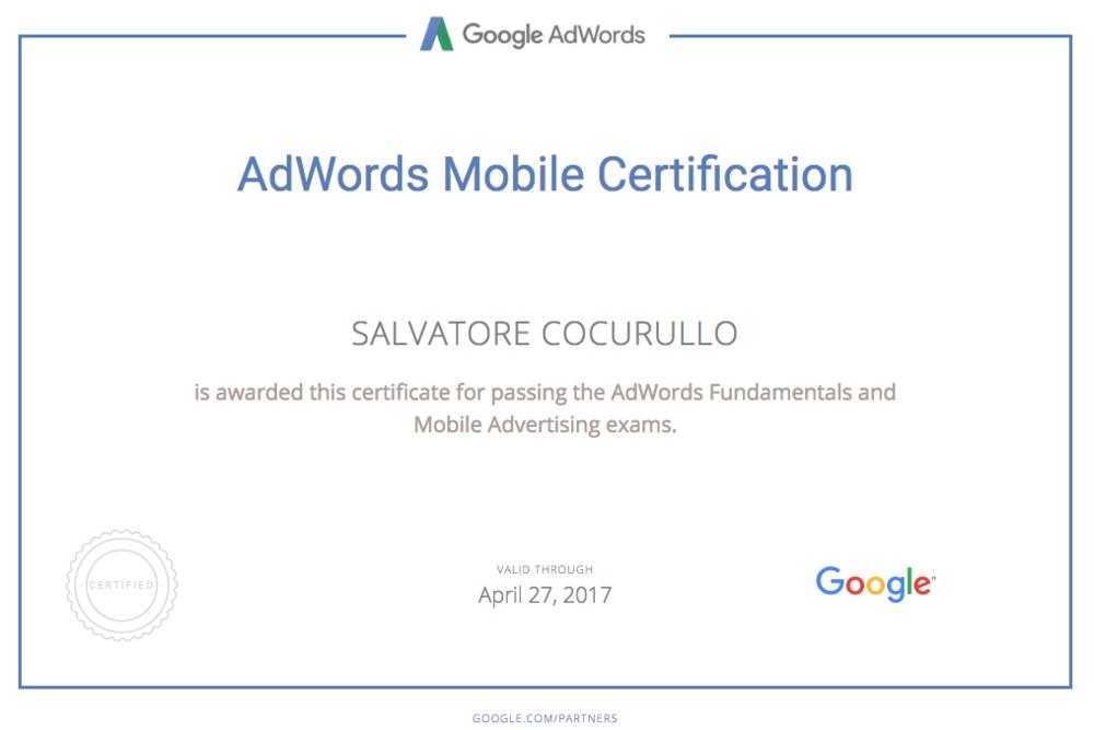 Certificazione-adwords-search-Cocurullo-Salvatore
