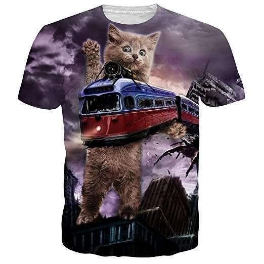 Si, questa maglietta esiste ed è in vendita per chi ha il coraggio di comprarla! Puoi sceglere tra decine di modelli ugualmente raccapriccianti! Su Amazon a partire da 8€