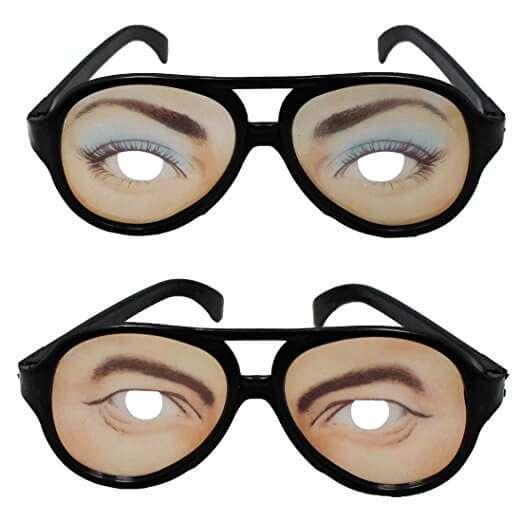 Occhiali spaziali! Da uomo e da donne, cambia il tuo sguardo, farai impazzire tutti! circa 10€