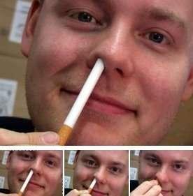 Sigaretta dentro al naso, giochi di prestigio da maghi! Su Amazon a circa 10€
