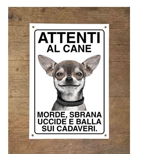 Attenti al cane: morde sbrana uccide e balla sui cadaveri (15X20)