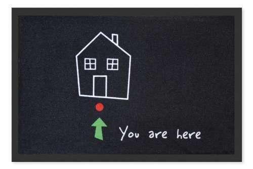 """Se hai scritto """"benvenuti"""" sullo zerbino vecchio e sbiadito e ora di dare una svecchiata a casa tua, che sembra un museo! Questo è uno zerbino! Scegli gli oggetti che ti circondano! Allontana la banalità dalla tua vita! circa 18€"""