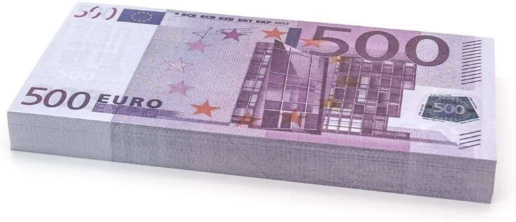 €500 Euro Banconote