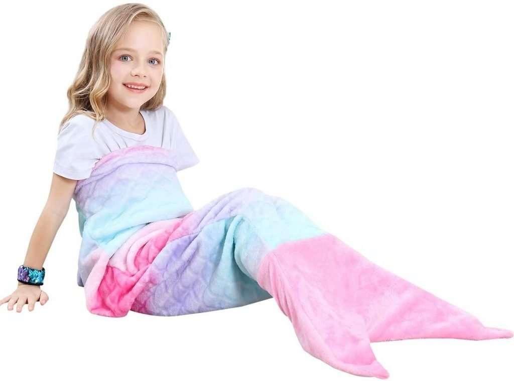 Sirena Coda Coperta per Bambino